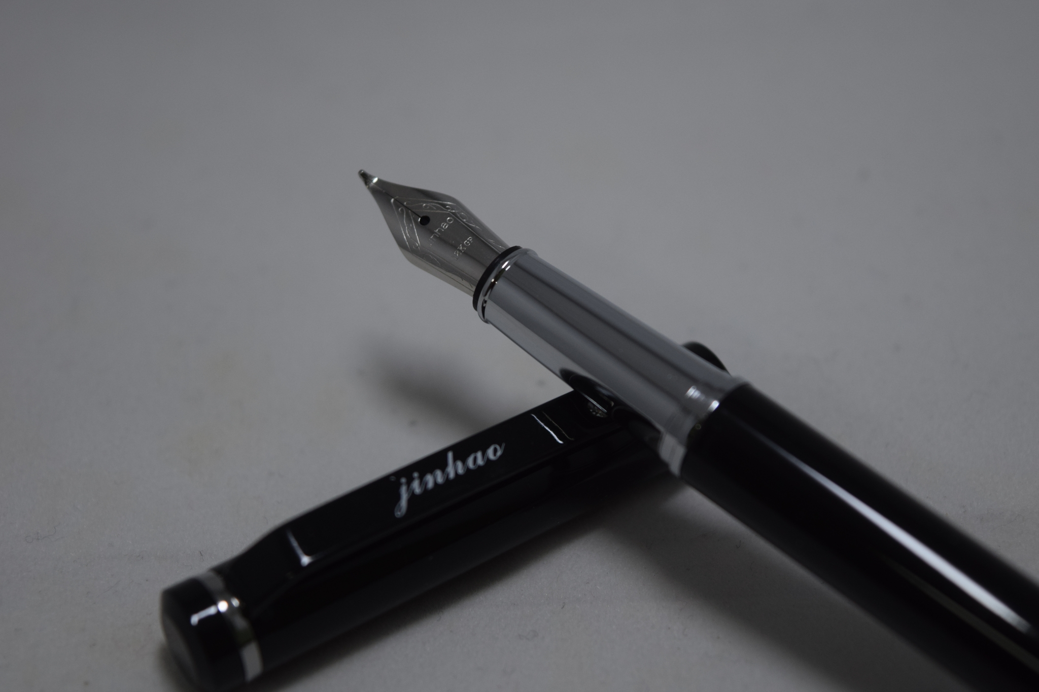 Jinhao 101 Fountain Pen Black With Fude Nib Chinese