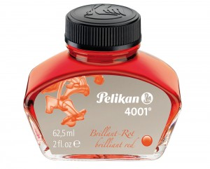 Pelikan 4001 Red Ink 62.5ml Bottle