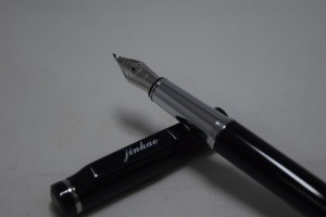 JinHao 101 Fountain Pen Black with Fude Nib (Chinese Calligraphy Nib)